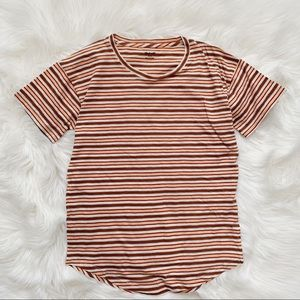 Madewell Cotton Striped T Shirt New
